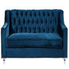 20 collection of blue velvet tufted sofas sofa ideas