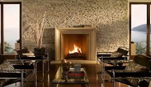 contemporary stone fireplace designs home and interior