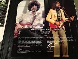 rock u0027n r guitars gibson harrison clapton 1957 les paul standard