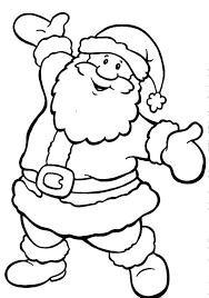coloring pages to print of santa santa coloring page on coloring page free printable santa sleigh