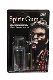 spirit halloween liquid latex amazon com mehron spirit gum u0026 remover combo toys u0026 games
