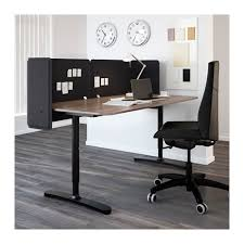 Reception Desk Furniture Ikea Awesome Bekant Screen For Desk 55 Cm Ikea Inside Reception Desk