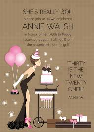 30th birthday invitations for her marialonghi com