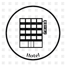 hotel and restaurant staff glossy icon set royalty free vector