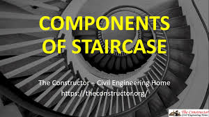 What Is A Banister On Stairs by Components Of Staircase And Their Details