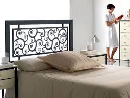 chambre fer forgé tête de lit caracoles en fer forgé meuble design pour la chambre