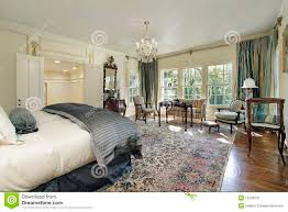 bedroom with sitting room stock photos image 18090133