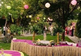 island themed wedding ideas of hawaiian wedding reception weddingelation