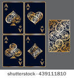 Playing Card Design Template Playing Card Templates Free Vector Art 15926 Free Downloads