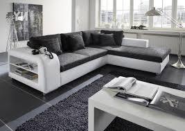 sofa grau weiãÿ designer modernes sofa fürs wohnzimmer aus leder in weiß