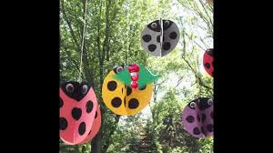 easy diy outdoor crafts for kids youtube