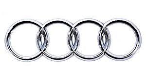 audi rings amazon com genuine rear trunk chrome badge rings emblem audi a4