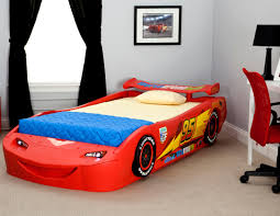 delta children cars lightning mcqueen bed with