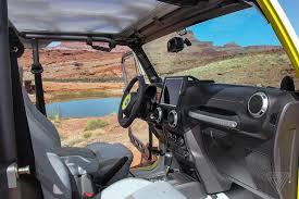futuristic jeep embarking on an easter jeep safari the verge