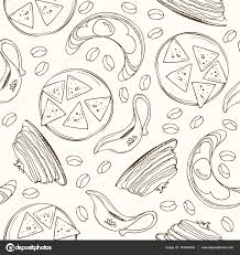 food vector arabic food vector set arabian cuisine illustration u2014 stock