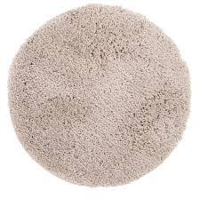 Plush Floor Rugs Deco Lovers Bella U0027s Shaggy Round Rug Cream Shag Super Plush Thick