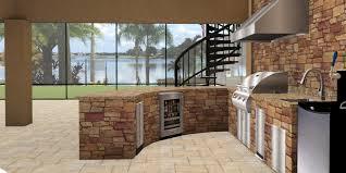 Outdoor Kitchen With Sink 3d Outdoor Kitchens Lakeland Fl