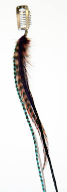 feather hair clip hair feathers feather extension hair clip feather hair