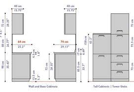 Kitchen Cabinet Height Standard Height Width And Depth Of Kitchen - Kitchen cabinet height