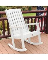 Recycled Plastic Rocking Chairs Amazing Deal On Outdoor Semco Recycled Plastic Rocking Chair Green