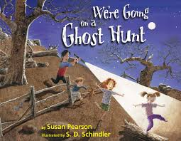 children halloween books we u0027re going on a ghost hunt susan pearson s d schindler