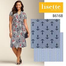 Nautical Theme Dress - nautical inspiration for b6168 blog lisette