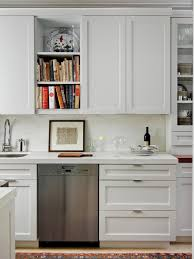 Kitchen  AmeriCabinets Kitchens Contemporary Desoto White Shaker - Shaker white kitchen cabinets