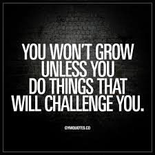 Challenge How Do You Do It You Won T Grow Unless You Do Things That Will Challenge You