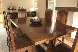 oak kitchen table and chairs style oak dining furniture in traditional interiors