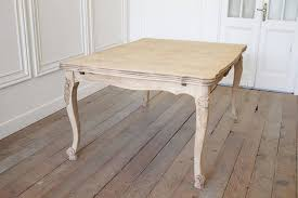 Draw Leaf Dining Table Oak Parquet Draw Leaf Dining Table For Sale At 1stdibs