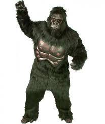 Gorilla Halloween Costume Simian Super Gorilla Mascot Costume Halloween Costume