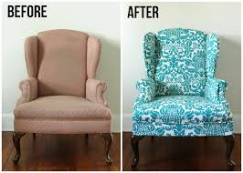 lovely little life diy upholstered wingback chair