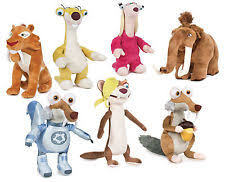 disney ice age character toys ebay