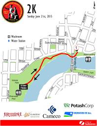 Saskatoon Canada Map by Running Room Online Event Registration