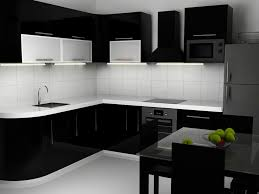 High Gloss Black Kitchen Cabinets Modern Buy Wholesale Black Gloss Kitchen From China In