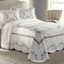 Bed Quilts And Coverlets Floral Quilts U0026 Coverlets You U0027ll Love Wayfair