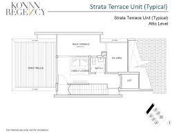 strata terrace typical kovan regency