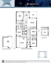 Florida Floor Plans Robinson Victoria Trails Deland Florida D R Horton