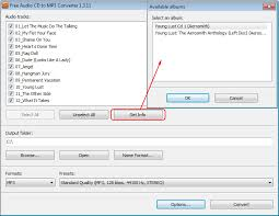 To Mp3 Convert Audio Cd Data To Mp3