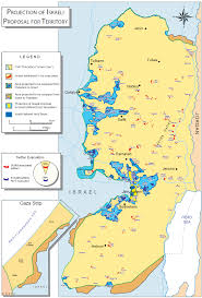 West Bank Map Israeli Settlements The Barrier Wall And The Two State Solution