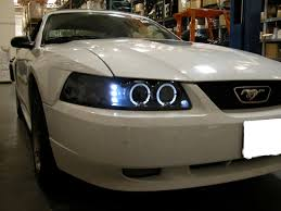 mustang projector headlights ford mustang eye halo projector headlights headls