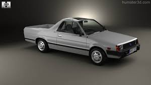 subaru brat 360 view of subaru brat 1981 3d model hum3d store