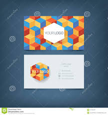 business card template simple clean layout stock vector image