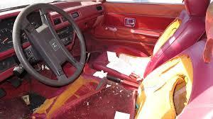 mitsubishi cordia interior junkyard treasure 1982 honda prelude autoweek