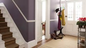 Best Hallway Paint Colors by Beautiful Apartment Hallway With White Storage And Blue Wall Paint