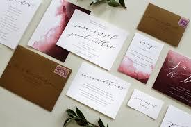 calligraphy for wedding invitations custom calligraphy wedding invitation suite two