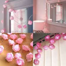 how to decorate with fairy lights also gallery including pink