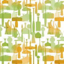 Mid Century Patterns by Tangerine Blenko Glass Wallpaper Pattern Scott Sherwood Flickr