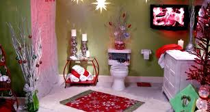 Ideas To Decorate Your Bathroom 5 Decorating Ideas To Get Your Bathroom A Christmas Look This Year