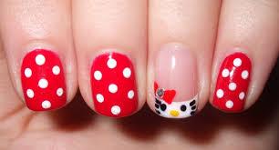 nail art breathtaking cute nail art photosas hello kitty tips